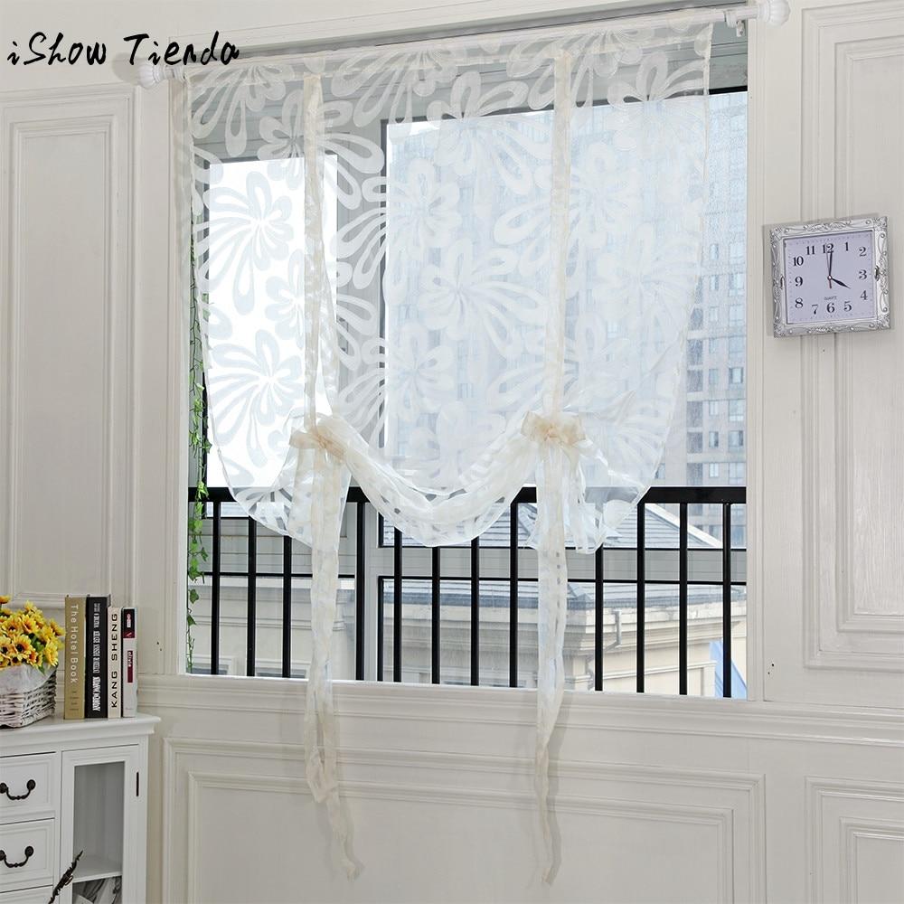Rideau Pour Porte Fenetre €3.31 8% de réduction|1 pièces fronde fleurs coupées porte fenêtre rideau  drapé panneau pure écharpe valances rideaux pour salon cuisine fenêtre  décor
