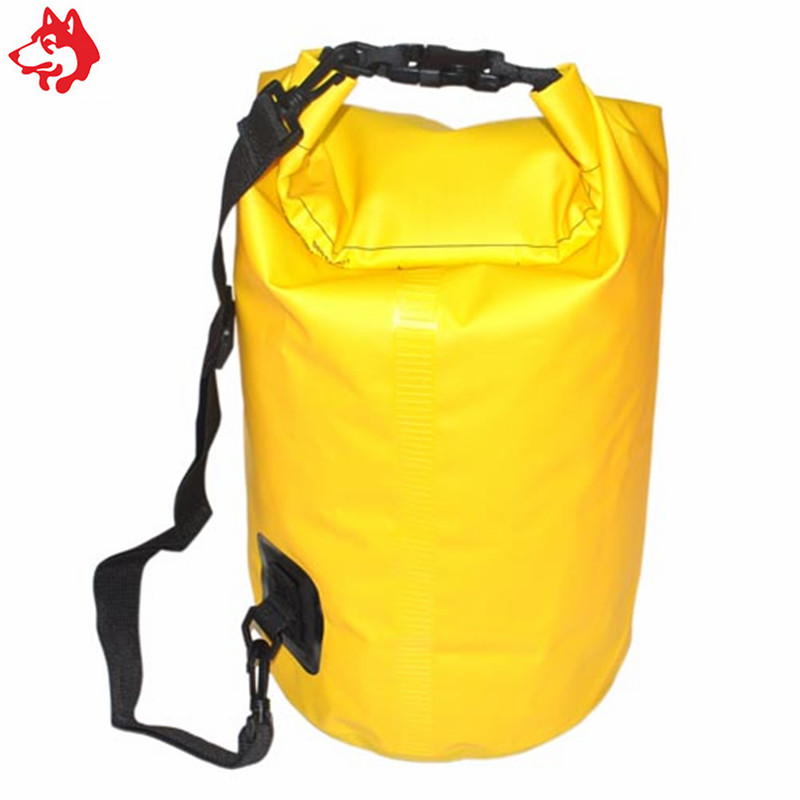 Купить с кэшбэком 25L waterproof river trekking ocean pack outdoor  small  pvc hiking camping climbing swimming tarpaulin dry bag