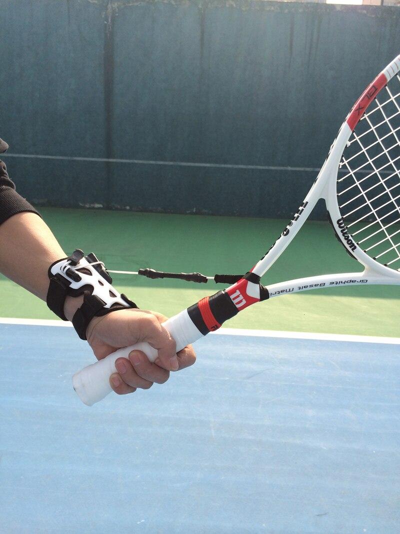 Tennis Trainer Tennis Wrist Training Tennis Racket Aid Tool Pro Tennis Training Practice Serve Ball Training
