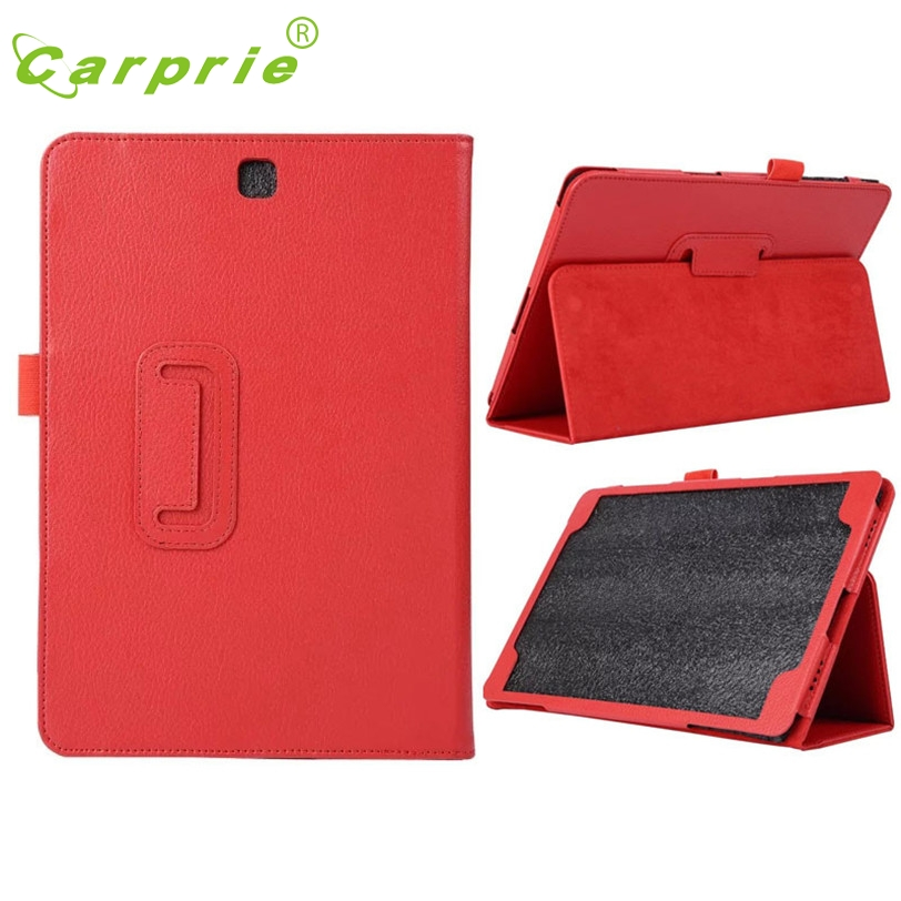 CARPRIE Case Cover For Samsung Galaxy Tab A AL 9.7inch T555 RD New Leather Stand Mar1 MotherLander