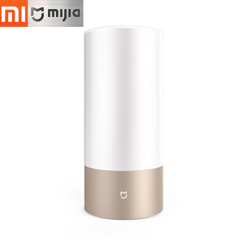 Original Xiaomi Mijia Mi Bedside Lamp Yeelight Smart Indoor Light 16 Million RGB Touch Control Bluetooth Wifi for Mi home APP