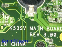 NEW !!! EMS DHL Free Shipping Laptop motherboard for ASUS k53S Notebook K53SV REV : 3.0 ( Compatible REV : 3.1 ) VGA GT 540M