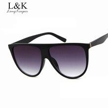 Long Keeper Brand New Oval Women Men Sunglasses Oversize Fem