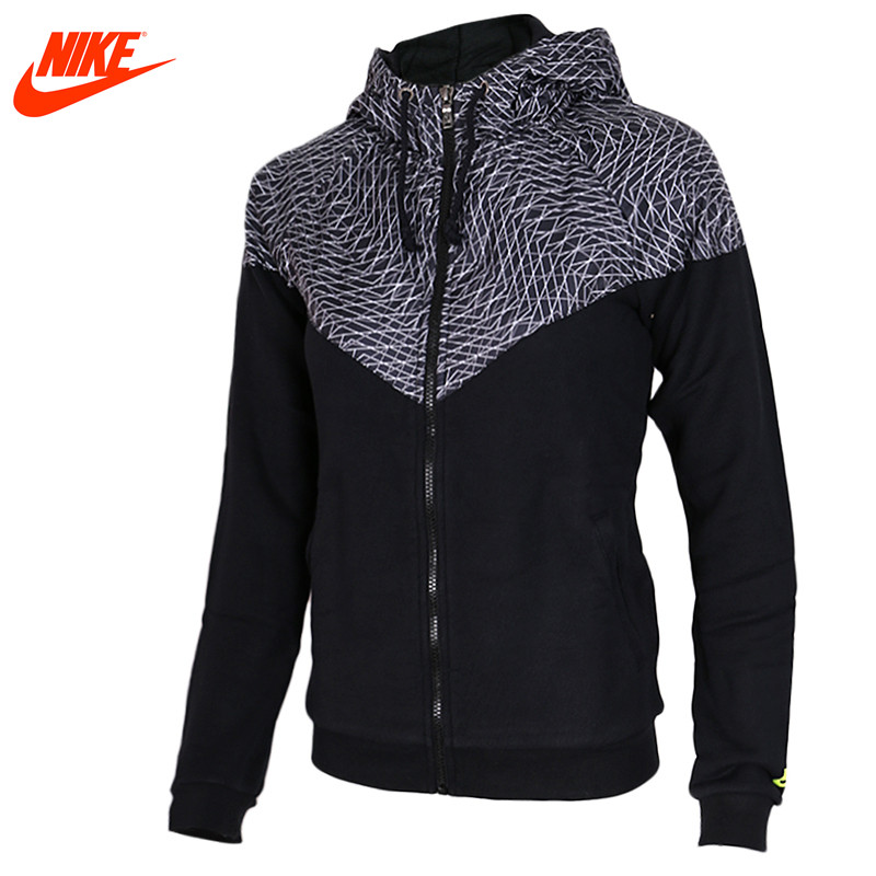 Nike original fall women's sports breathable jacket Black and Red nike nike fuelband sports bracelet battery cover green m