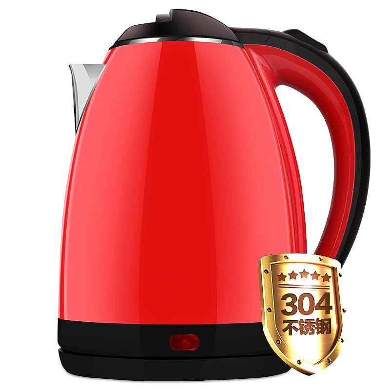 Electric kettle 304 stainless steel dormitory home cooking kettle/automatic power Quick Overheat Protection small power electric kettle cup in the student dormitory of double decker