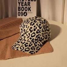 2019 New Leopard Baseball Cap Women Hats Female Men Dad Hat Snapback Caps Hip Hop Snap back Gorras H35
