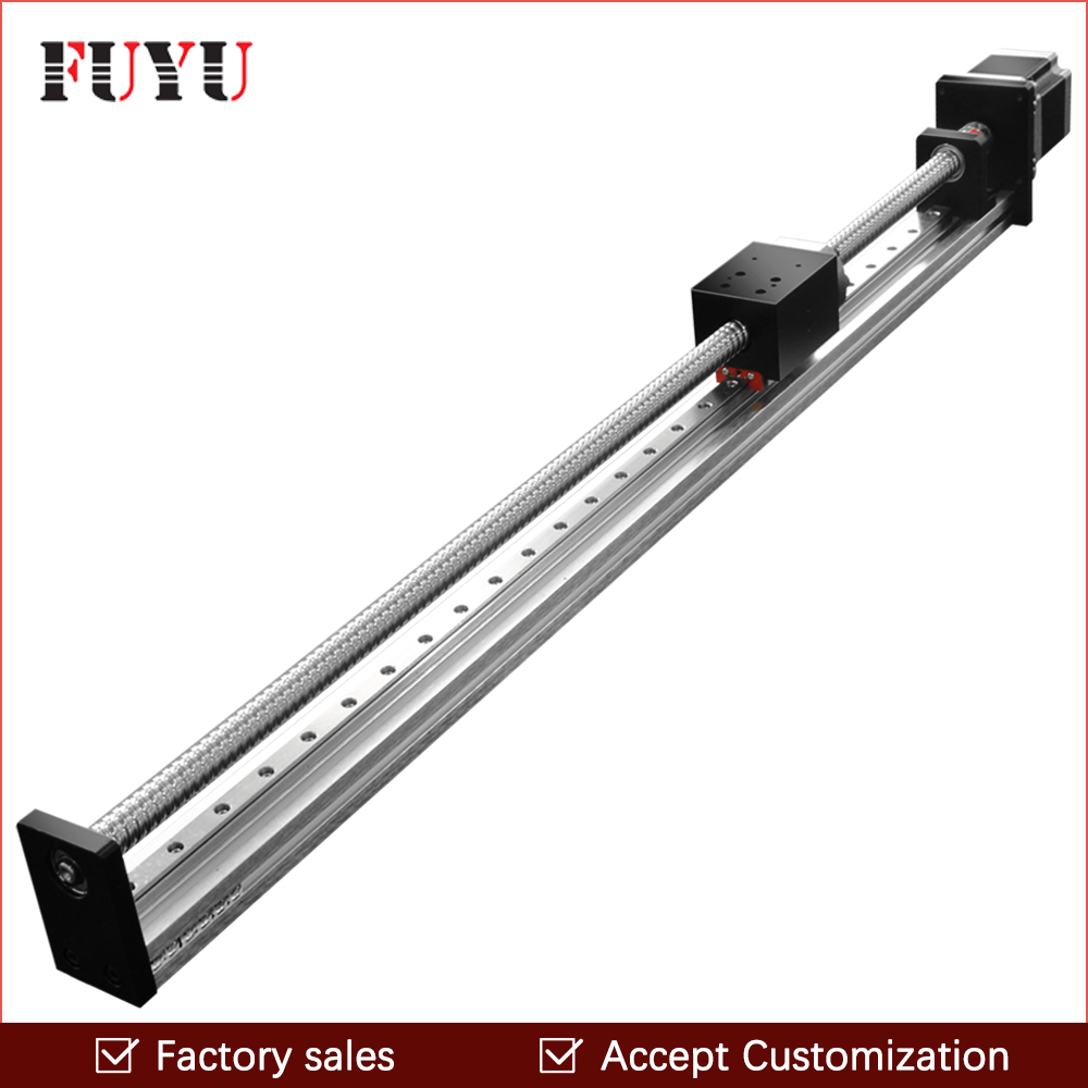 Free shipping FUYU Brand C7 Ball Screw Driven Linear Motion Stage Actuator Guide Rail For 3d Printer robotic arm kit free shipping factory sale ball screw linear guide rail xyz motorized stage table robotic arm z axis 300mm with motor
