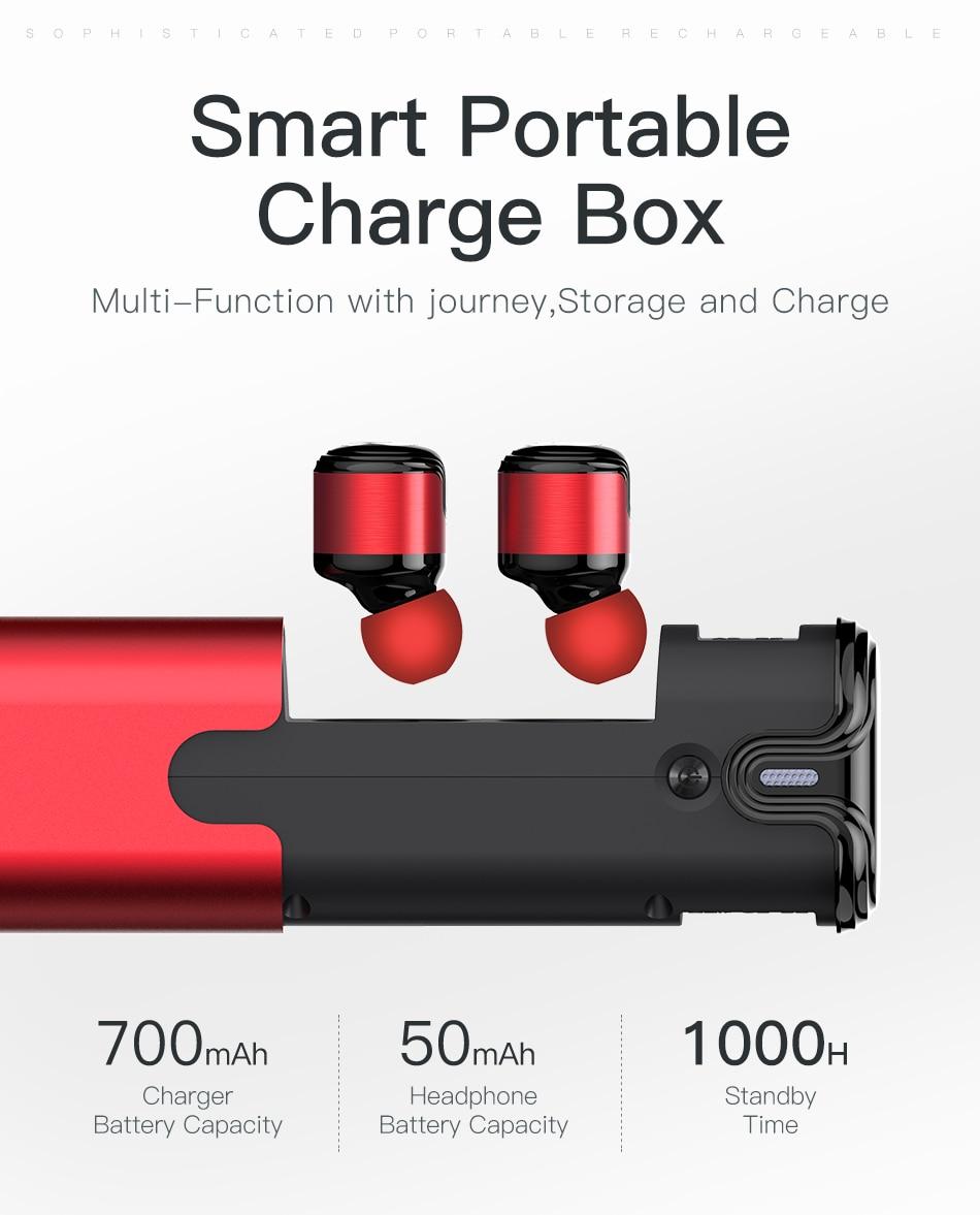 Awei T8 TWS CVC 6.0 True Wireless Sport Eearbuds Headphone With Power Bank Dual Microphone 3D Stereo In-Ear Handfree Earphones (13)