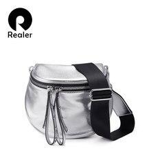 49886bf44c570 REALER frauen umhängetasche mode schulter tasche breiten gurt weiche  künstliche leder weibliche messenger tasche für damen