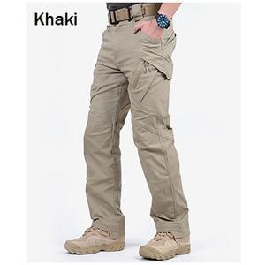 Image 1 - Marke ChoynSunday Tactical Cargo Hosen Männer Kampf Armee Militär Hosen Multi Taschen Stretch Flexible Mann Casual Hosen