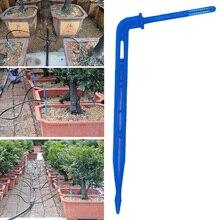20Pcs/lot Bend Arrow Dripper Micro Drip Irrigation Kit Drops Emitters Garden Watering Saving