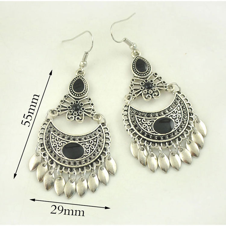 Buy Cheap Low Price Fee Shipping Red and black earrings Niani Bijoux Discount Shop For Factory Price Many Kinds Of Cheap Price Sale Footaction QE0iQ