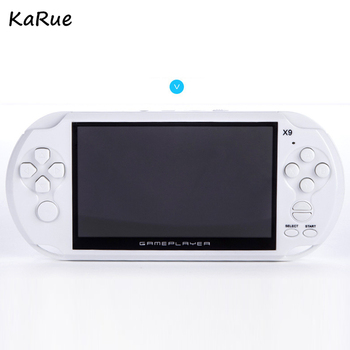X9 Handheld Video Game console 5.1 inch Screen Consoles Support TV Output With MP3 Movie Camera support for GBA MD arcade games