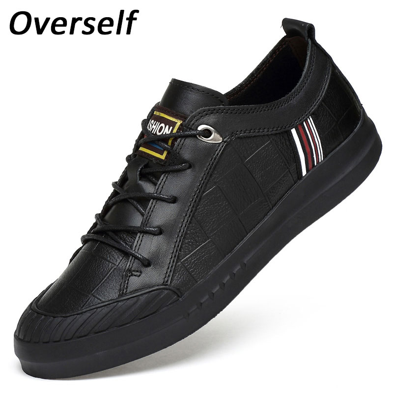 New Men Flats Shoes Luxury Fashion mens Casual shoe Plus Size 45 46 High Quality Genuine Leather Shoes For Man Warm Fur Winter стоимость