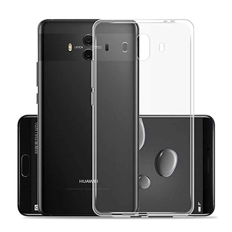 Bakeey For HUAWEI Mate 10 Ultra Slim Silicon Case Luxury Safety Transparent Clear Soft TPU Protector Back Cover Case in fitted