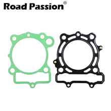Road Passion Motorcycle Engine Cylinder Cover Gasket Kit For KAWASAKI KXF250 KXF 250 2009-2016 gift oil seal 1pair new motorcycle engine parts valve stem for kawasaki kx250f kx 250f kx250 f kx 250 f kxf250 kxf 250 2009 16