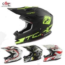 TORC T32 adultos cascos de moto casco casco capacetes casco de moto off road cascos de motocross cruz puede añadir gafas