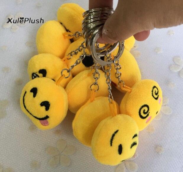bulk 1000pcs Super cute mini 3CM Approx little smallest size Accessory little emoji Plush stuffed TOY