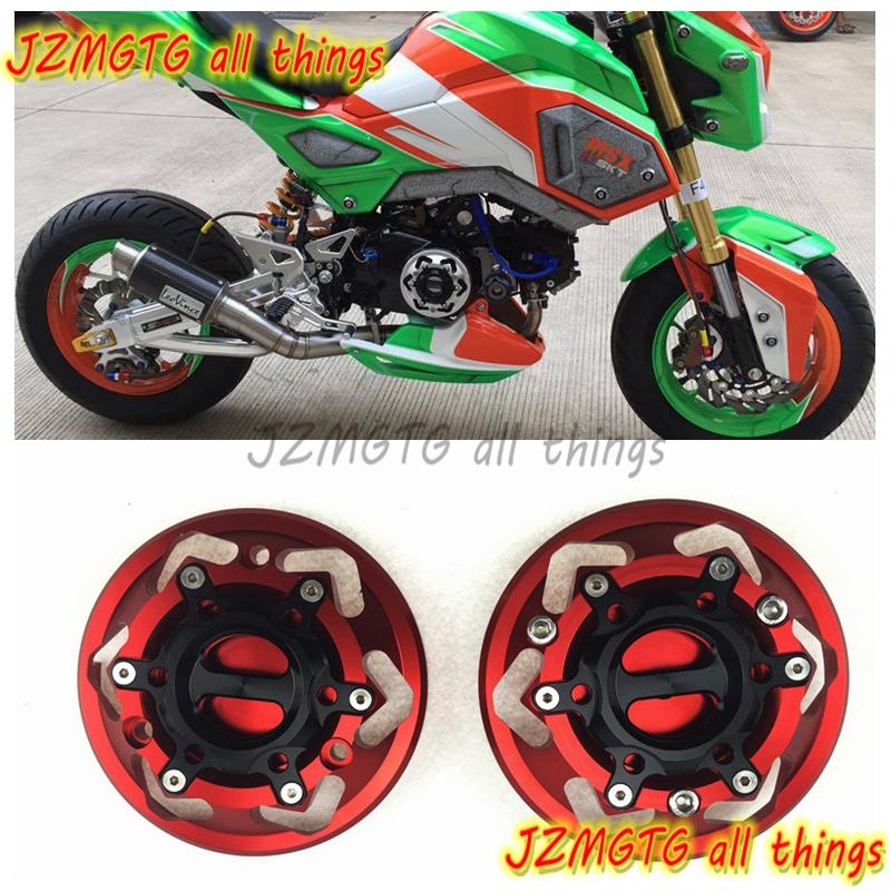 Motorcycles Engine cover Protection case for case For HONDA GROM MSX125 MSX125SF Red Engine Covers Protectors