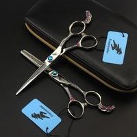 6.0 inch Freelander Phoenix series hairdressing scissors Barber tools Senior stylist must have scissors Flat scissors Tooth