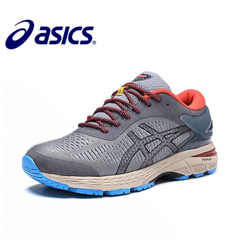 775f699ce32 Asics Gel Kayano Trainer Running Shoes Para O Homem 2019 New Arrivals  Original Calçados Esportivos Asics