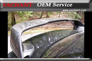 Car-Styling FRP Fiber Glass Rear Spoiler Fit For 2008-2012 Mitsubishi Lancer Evolution EVO X EVO10 OEM Style Trunk Spoiler Wing
