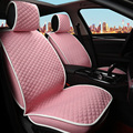 lovely pink women car seat covers for car seat cartoon car covers front and back 5 seat full set covers for car seats