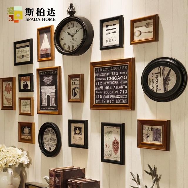 Marcos s para los cuadros foto marcos pared de madera foto for Adornos de madera para pared
