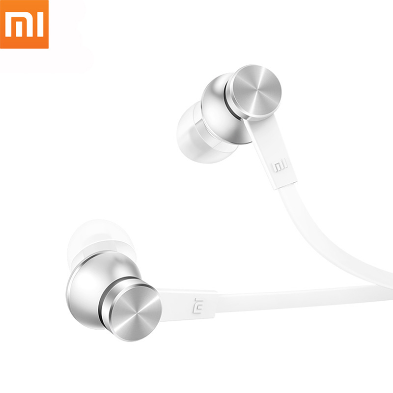 Original Xiaomi Piston Earphone Basic Edition Stereo Earbuds In-Ear Wired Earphones Colorful Auriculares For Samsung Xiaomi LG sfa08 new earphone wired in ear stereo metal headset piston earbuds universal for xiaomi iphone 7 sony samsung xiaomi s4 s6 mp3