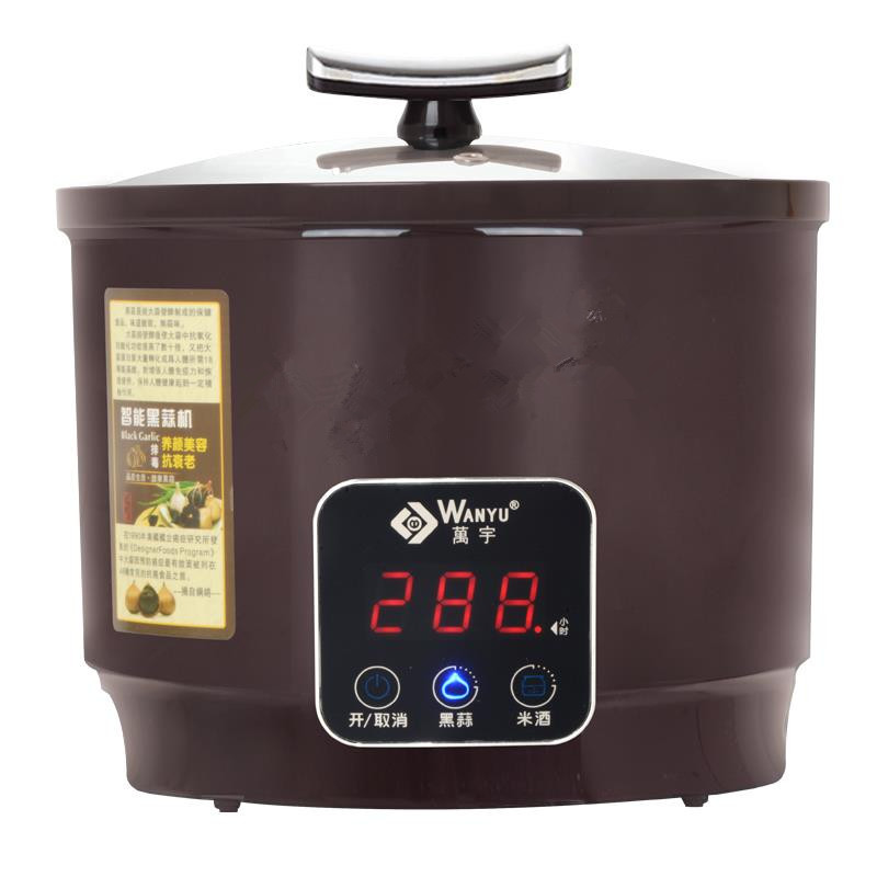 6L Intelligent Touch Screen Fermenting Black Garlic Machine For Household And Commercial Food Processor With Off Memory wavelets processor