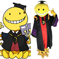 New Arrival Anime Assassination Classroom Korosensei Cosplay Costume Cloak Suit