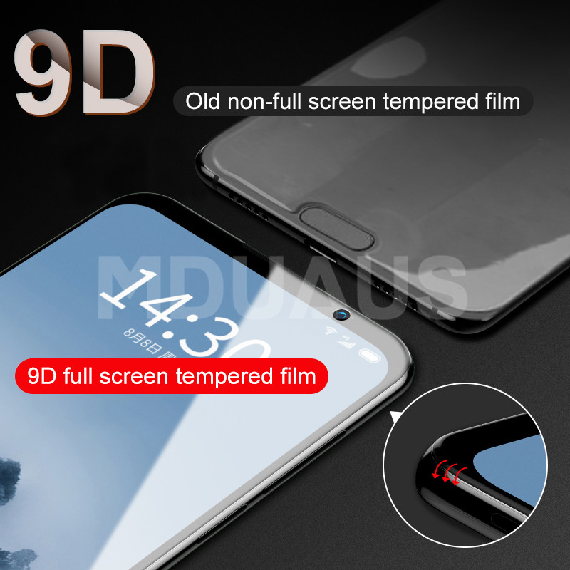 9D Screen Protector For Meizu 16 th 16X 15 Lite Plus M15 X8 Note 8 9 Pro 7 Plus  2