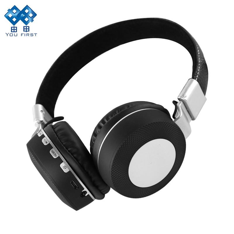 Bluetooth Headphone Stereo Wireless Sport Handsfree Earphone With Microphone Wired Headset With TF Card FM For Mobile Phone