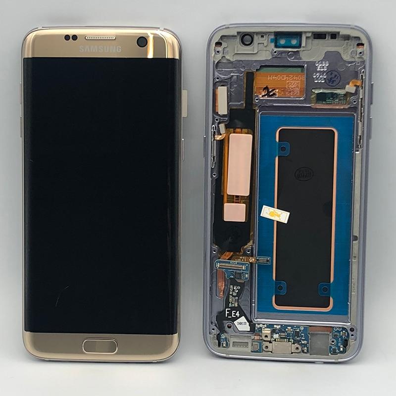 """Pantalla S7 edge 5,5""""para reemplazo Samsung"""