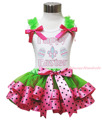 Rhinestone feliz páscoa ovo de rosa preto verde laços de cetim guarnição menina roupa saia 1-8a MAPSA0507