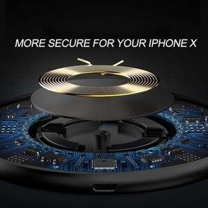 Image 4 - Suntaiho Qi Draadloze Oplader Voor Iphone X Xr Xs Max 10W Snelle Draadloze Opladen Voor Samsung S10 S9 Voor xiaomi Mi9 Usb Lader Pad