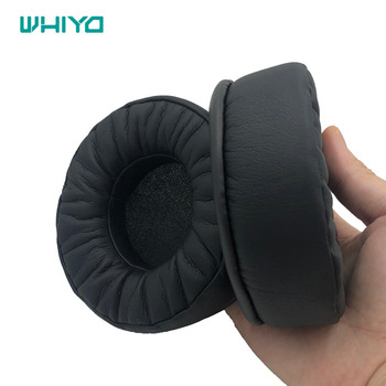 Whiyo Sleeve Ear Pads Covers Cups Cushion Cover Earpads Earmuff Replacement for Plantronic RIG 500E Surround Sound PC Headphones image
