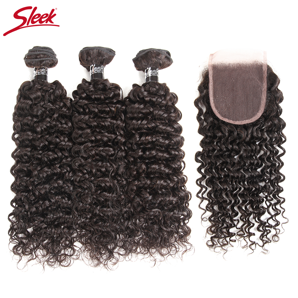 Where To Buy Sleek Hair Brazilian Curly Weave Human Hair Bundles