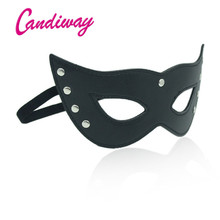 Sex Eye Masks Cat Lady mask queen female Erotic slave cocktail party nightLife Flirting Sex toys for Couple love shame game