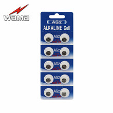 10pcs/pack WAMA AG2 LR726 396A 607 S30 556 Button Cell Coin Alkaline Battery 1.5V Watches цена