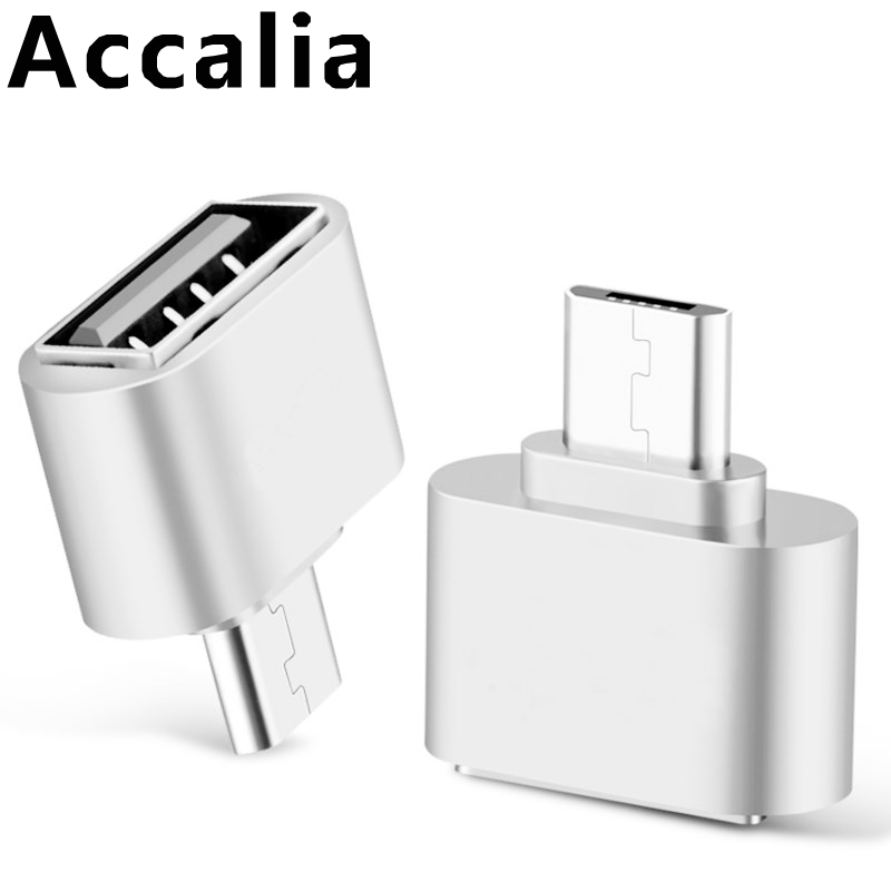 Original New Mini OTG Cable USB TYPE-C Adapter Micro USB To USB Converter For Android Huawei Samsung Xiaomi HTC Sony Tablet PC