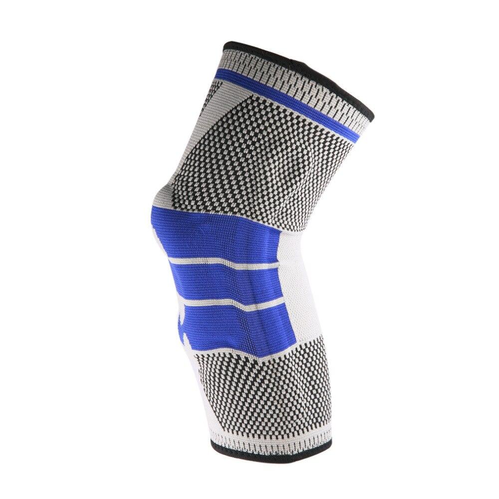 1 unids deporte Seguridad fútbol Vóleibol Baloncesto rodilleras Cintas codo Tactical rodillas Calf soporte ski/Snowboard kneepad