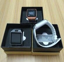 Vêm com caixa! nova loja preço baixo smart watch dz09 com câmera do bluetooth relógio de pulso smartwatch para android ios telefone do cartão sim(China (Mainland))