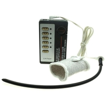 ZENBALA Electro Shock E-Stim with 265mm 10 Inch  Dilator Silicone Urethral Sounds vibrator Penis Sleeve male sex toys