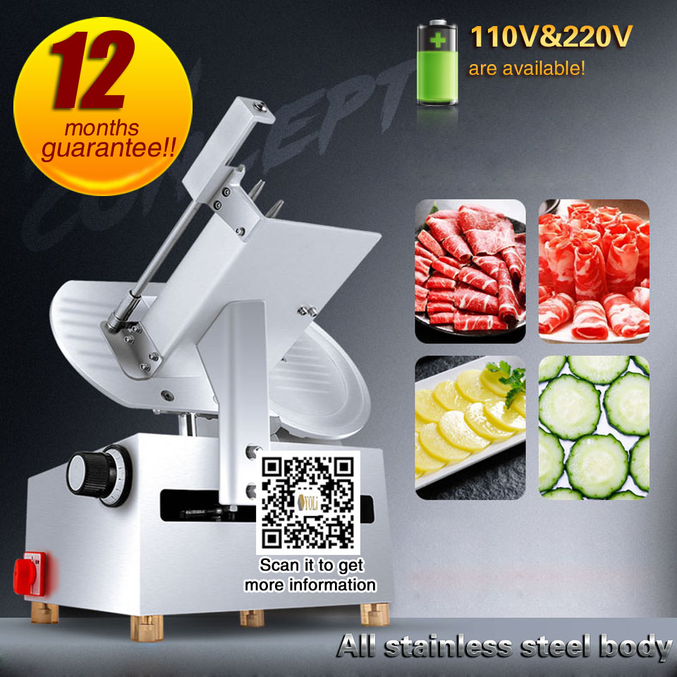 Commercial Meat Slicer Meat Slicer For Sale Vegetable Slicer For Kicthen GMP Standard