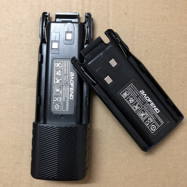Baofeng UV 82 walkie talkie battery 2800mAh 3800mAh Li battery 7.4V For Baofeng Walkie Talkie