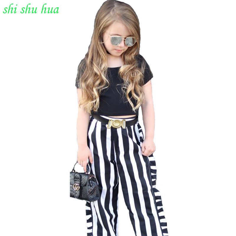 Lady garments Set Korean model of youngsters's retro flower suitOne shoulder short-sleeved shirt +plaid wide-leg pants clothes Clothes Units, Low-cost Clothes Units, Lady garments Set Korean model of youngsters's...
