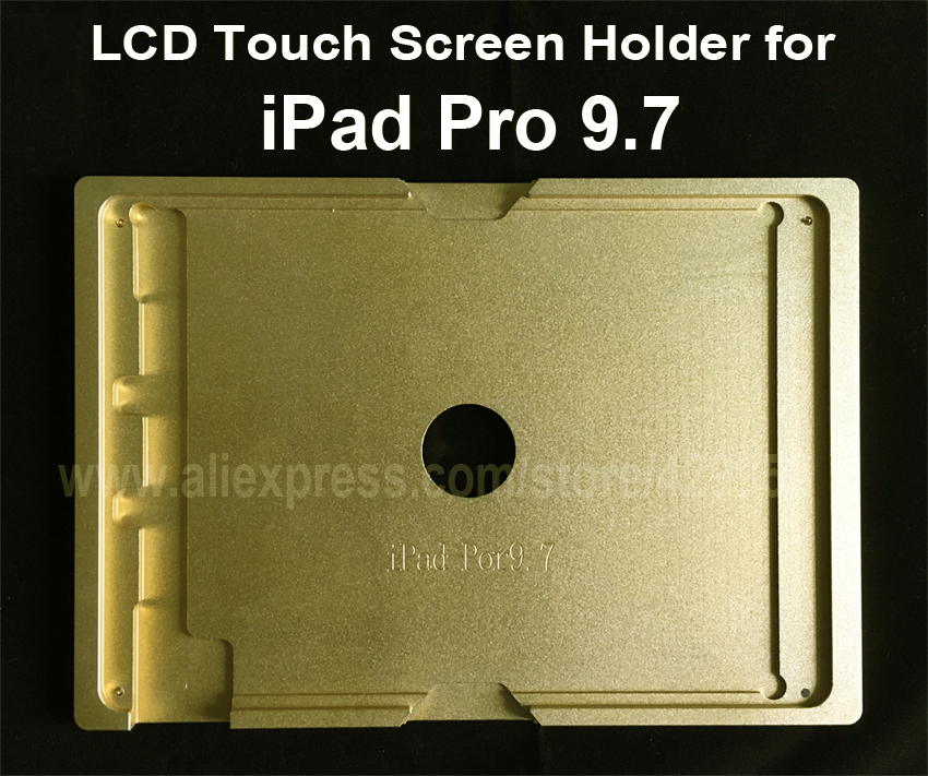 Aluminium Mould Mold for iPad Pro 9.7 LCD Touch Screen Separator OCA Laminating Display Repair Refubish Machine Tool new metal 3d sublimation mold printed mould tool heat press for ipad mini 2 for ipad mini mould