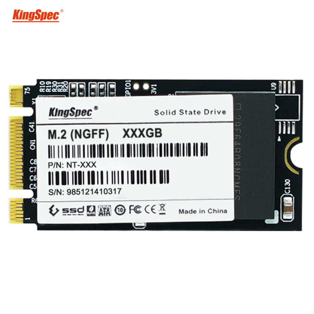 22x42mm kingspec 32GB 64GB 128GB 256GB ssd solid state drive NGFF M.2 interface MLC high compatible for laptop ultrabook upgrade