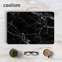 Black Marble Laptop Skin Sticker Decal For Apple Macbook Sticker Pro Air Retina 11 12 13